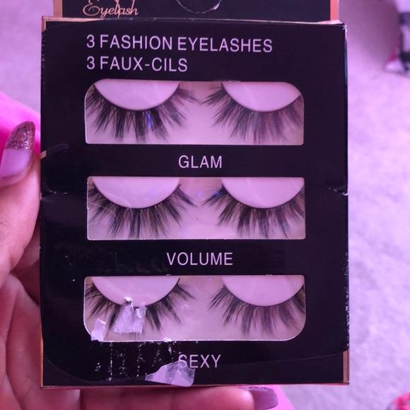 3b370c5b39a Makeup | 3 Fashion Eyelashes | Poshmark
